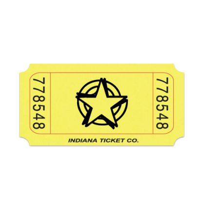 Roll-Tickets-Star-Yellow